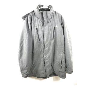 Champion Performance Duofold Warm Ctrl Jacket hood